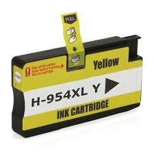 Cartucho de Tinta Compatível HP 954XL L0S68AB Amarelo | 7730 7740 8210 8710 8720 | Importado 26ml