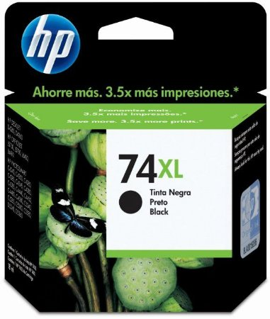 Cartucho HP Original Preto 74xl