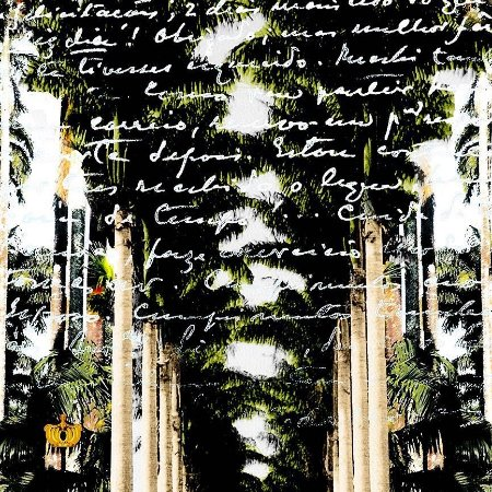 Lona Jardim Botânico 02  (175x125cm)