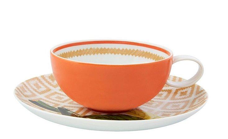 Xícara de Chá - Vista Alegre por Chicô Gouvêa