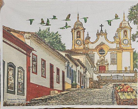 Lona Tiradentes, Minas Gerais (175 x 135 cm)