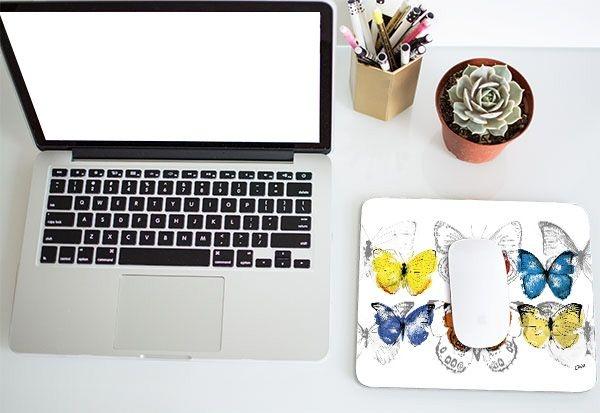 mousepad - JA borboleta conjunto
