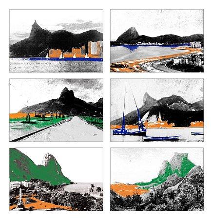Jogos Americanos - Rio Colorido (6 unidades)