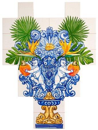 Painel de Azulejo 10 - 84x112cm