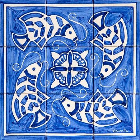Painel de Azulejo 04 - 45x45cm