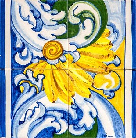 Painel de Azulejo 08 - 28x28cm
