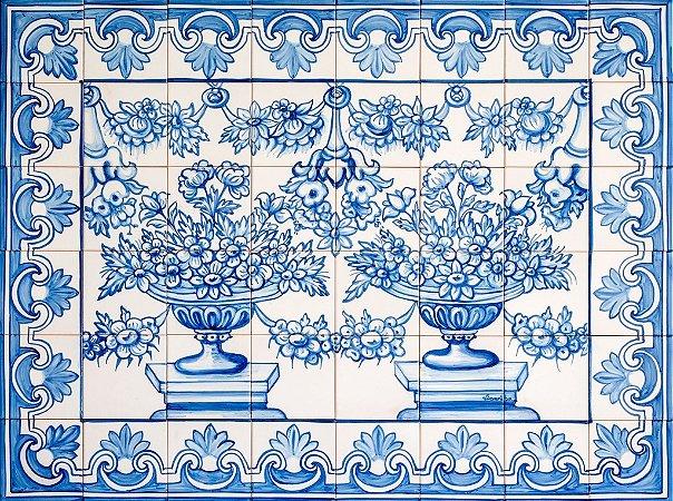Painel de Azulejo 16 - 120x90cm