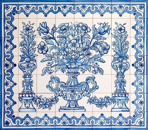 Painel de Azulejo 18 - 120x105cm