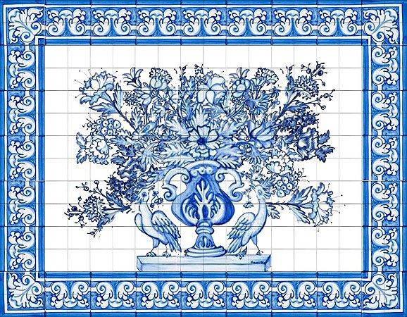 Painel de Azulejo 32 - 120x90cm