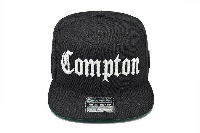 Boné Compton Aba Reta E-Stars NWA Straight Outta Compton Snapback Edição  Especial 8530367181b