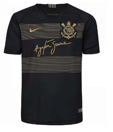 Camisa Do Corinthians Oficial Ayrton Senna 2019 Edição Limitada