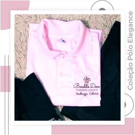Pólo Elegance rosa