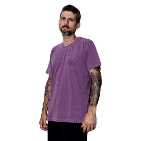 Camiseta Outstanding Estonada Sunset Roxa