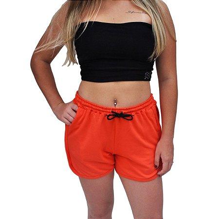 Shorts Moletinho Outs x EMMMES Laranja