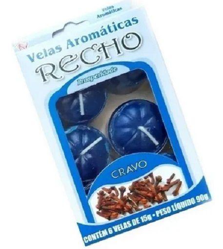 Velas aromáticas recho / rechaud CRAVO