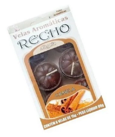 Velas aromáticas recho / rechaud CANELA