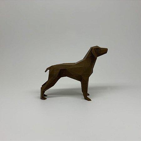 ESCULTURA DE CACHORRO 3D - DOBERMANN