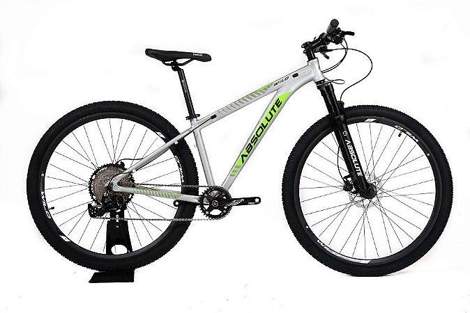 Bicicleta Absolute Wild 12 vel 2021 Prata