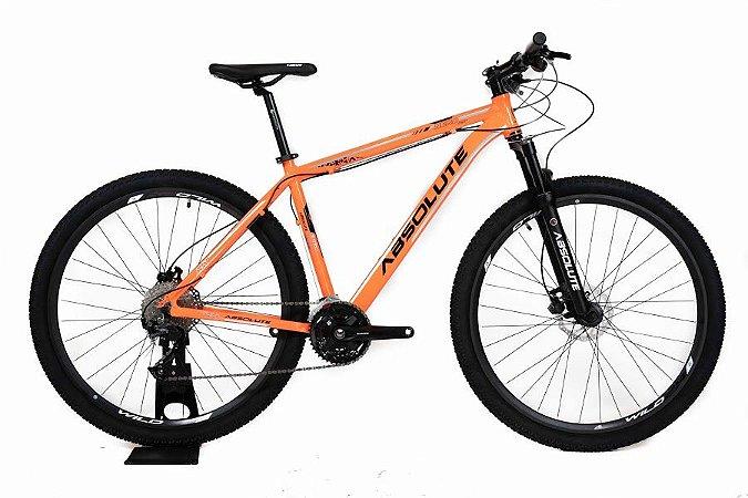 Bicicleta Absolute Wild Altus 27V 2021 Laranja