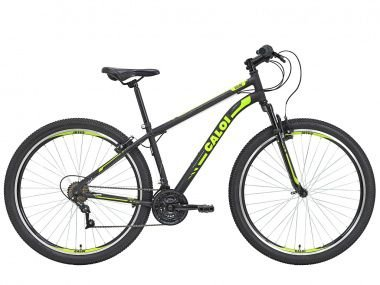 Combo Bicicleta Caloi Velox  Aro 29 T17 + Capacete Absolute Nero Led