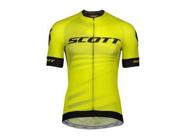 Camisa Scott RC Pro Amarela Preto