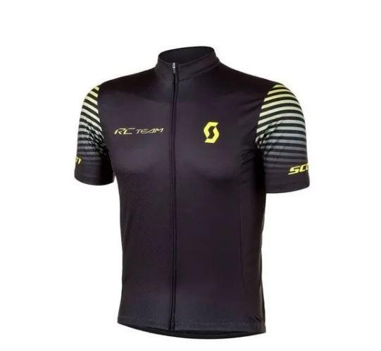 Camisa Scott RC Team Preto Amarelo