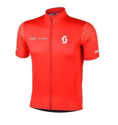 Camisa Scott RC Team Marrom Vermelha