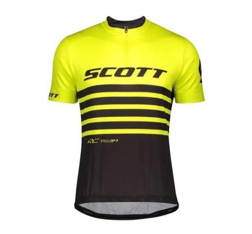 Camisa Scott RC Team Amarelo e Preto