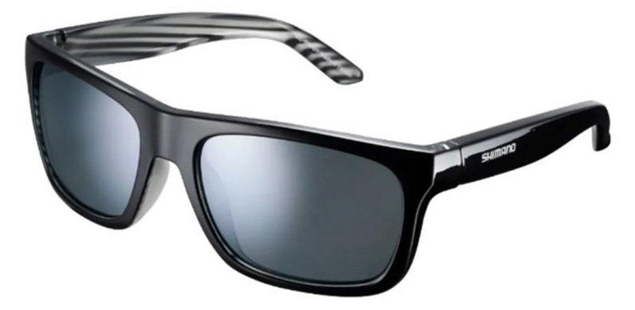 Óculos Preto Shimano Tokyo com listra branca