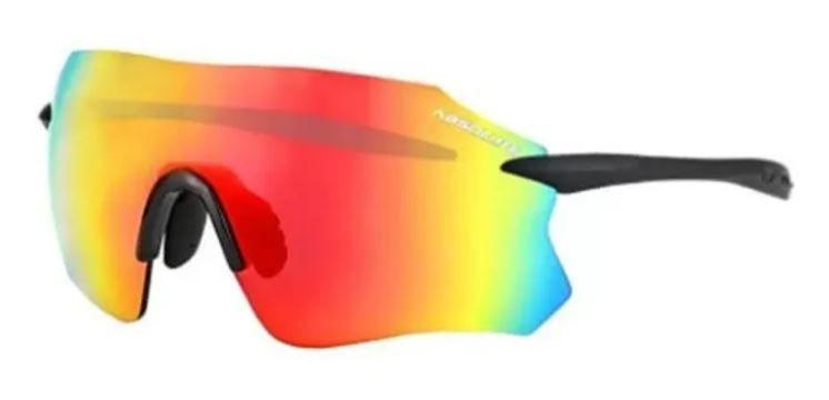 Óculos Abs prime Sl Preto Fosco Lente Vermelha