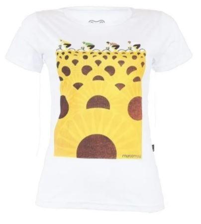 Camiseta Casual Feminina Márcio May Le Tour