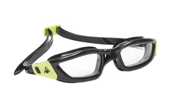 Óculos de Natação Aqua Sphere kameleon Lente Transparente - Preto