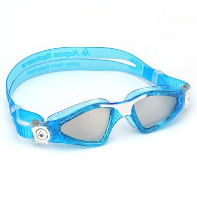 Óculos de Natação Aqua Sphere Kayenne Small Azul e Branco Lente Espelhada