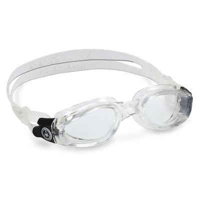 Óculos de Natação Aqua Sphere Kaiman Transparente e Presilha Preta Lente Transparente