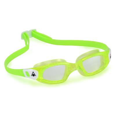 Óculos de Natação Aqua Sphere Kameleon Kid Lima e Branca Lente Transparente