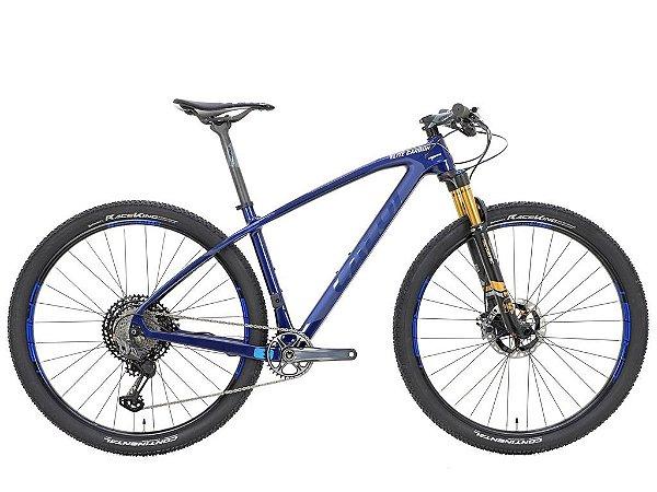 Bicicleta Caloi Elite Carbon Team XTR