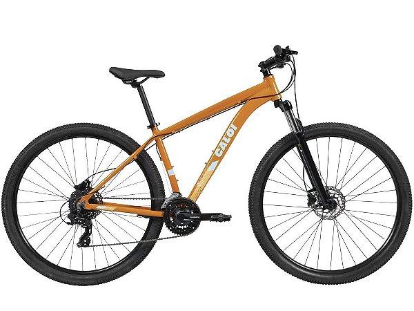 Bicicleta Caloi Explorer Sport 2021 Laranja