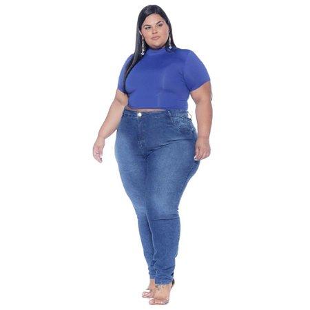 Calça Jeans Skinny Plus Size