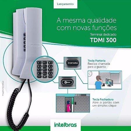 TELEFONE INTERFONE TDMI 300 DEDICADO PARA CONDOMÍNIOS