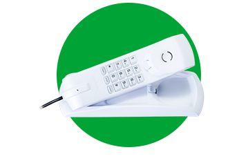 TELEFONE INTERFONE COM FIO TC20 INTELBRÁS