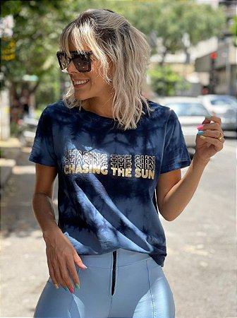 T-Shirt Tie Dye Azul