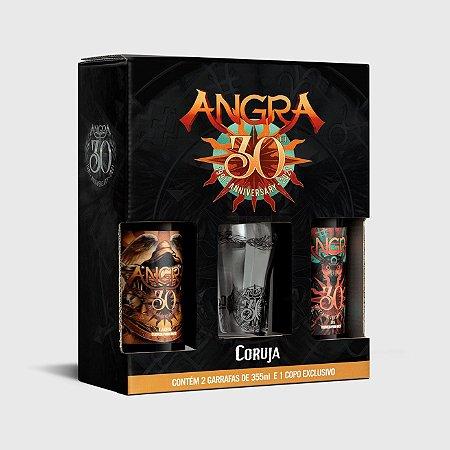 Kit Angra e Coruja 355ml - 1 Lager + 1 Ipa + 1 Copo Exclusivo