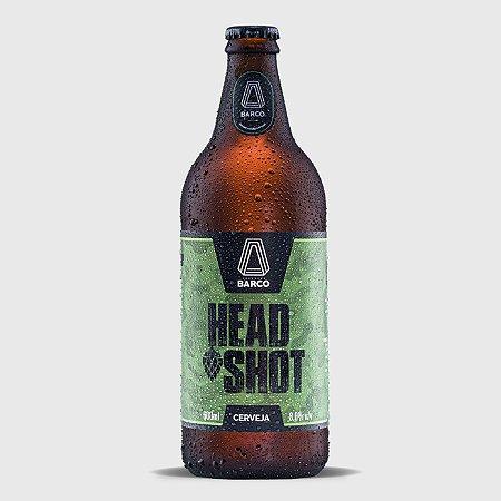 Cerveja Head Shot Double Ipa Barco - 600ml