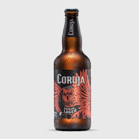 Cerveja Premium Lager Coruja - 500ml