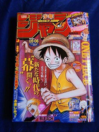 Weekly Shonen Jump 2010 Vol 05/06 (Capa One Piece)