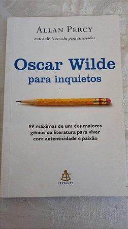 Allan Percy: Oscar Wilde para Inquietos