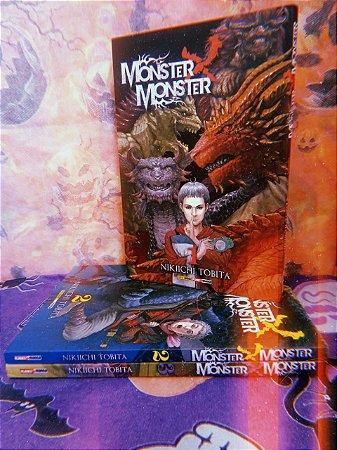 Monster x Monster Vol. 01 ao 03 Completo