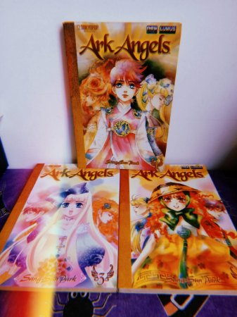 Ark Angels Vol 01 ao 03 Completo