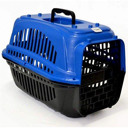 Caixa De Transporte Para Cães e Gatos  Tamanho N1 - Azul