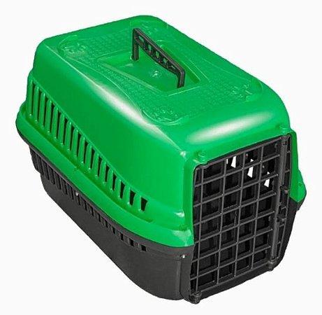 Caixa  De Transporte Para Cães Gatos N2 - Verde